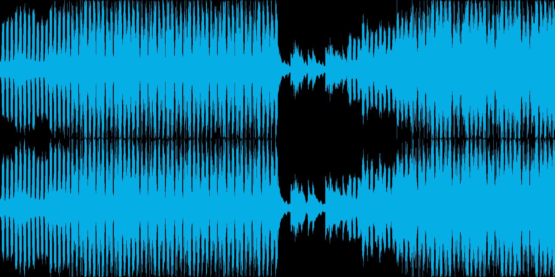 【映像系】令和幕開け_EDM調の再生済みの波形