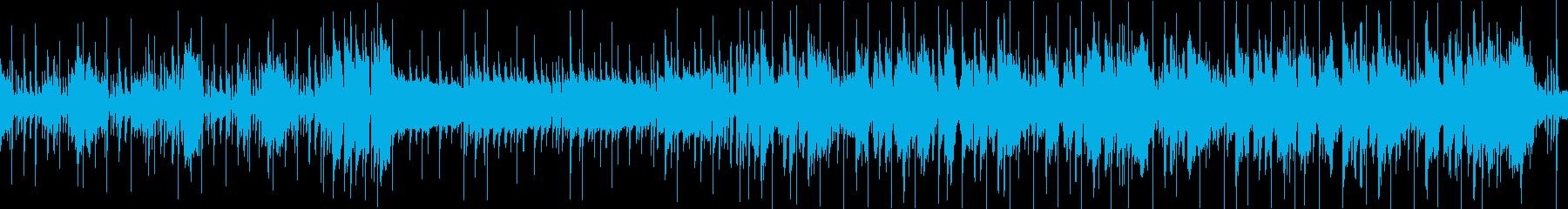 ノリノリ、ご機嫌なブラス・ファンクCの再生済みの波形