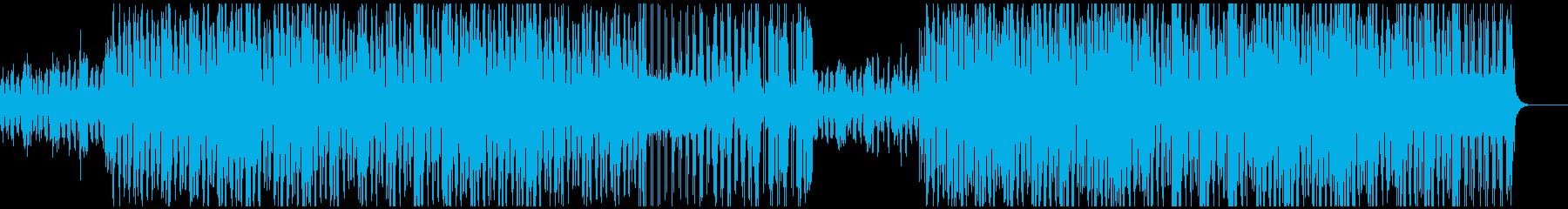 クセのあるコミカルな和風ほのぼのの再生済みの波形