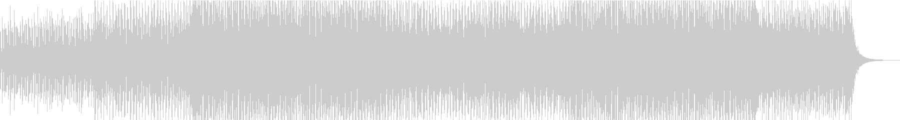 爽やかなエレクトロBGMの未再生の波形
