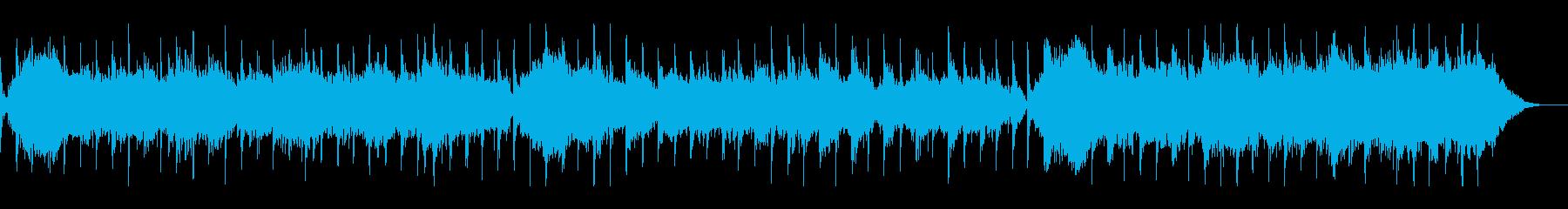 熱帯寺院の再生済みの波形