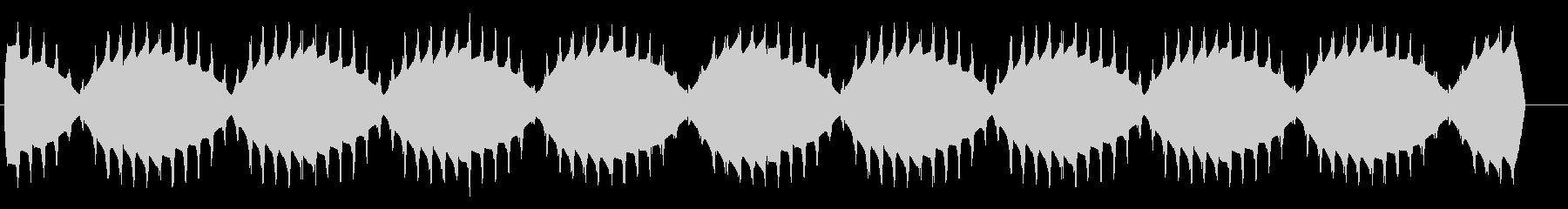 ボワーン(揺らぐ高音のワープエンジン)の未再生の波形