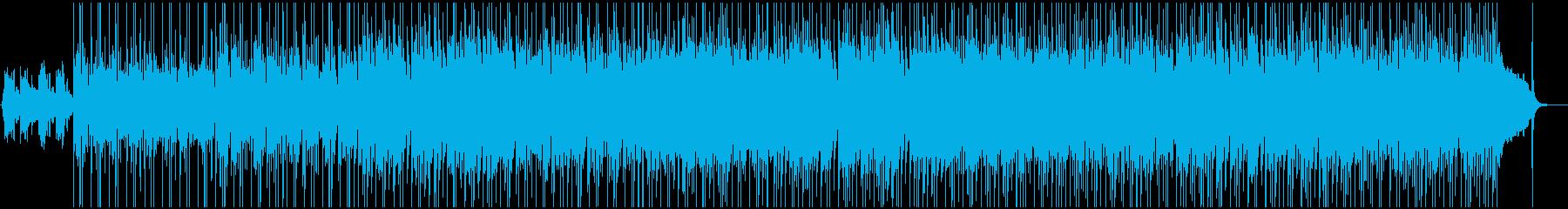 深く沈んでいくようなダウナー系ポップスの再生済みの波形