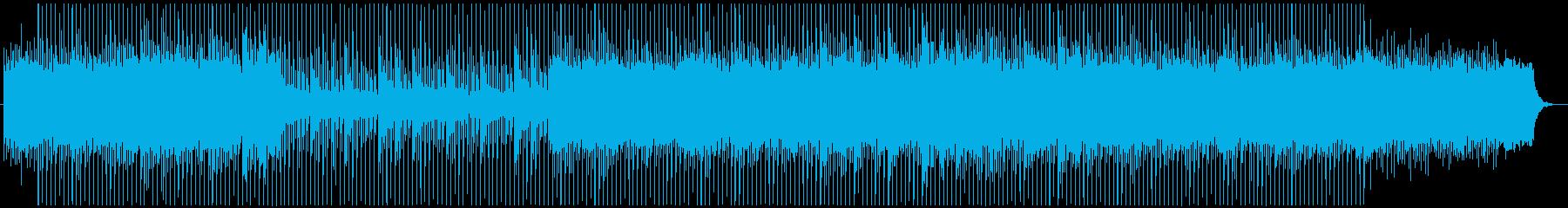 【企業VPに】淡々としたクールなBGMの再生済みの波形