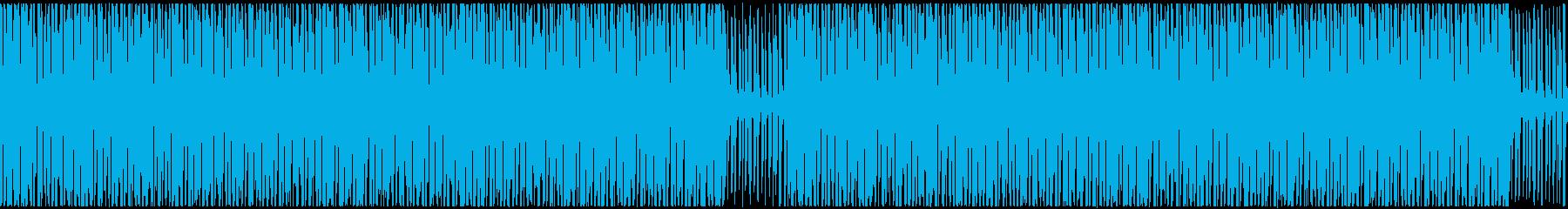 【ループ】ウキウキ気分☆ポップロックの再生済みの波形