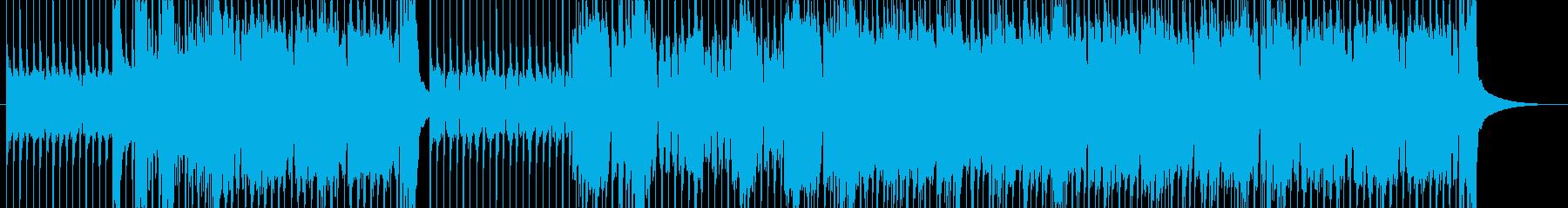 重々しくかっこいい歌もの風ハードロックの再生済みの波形