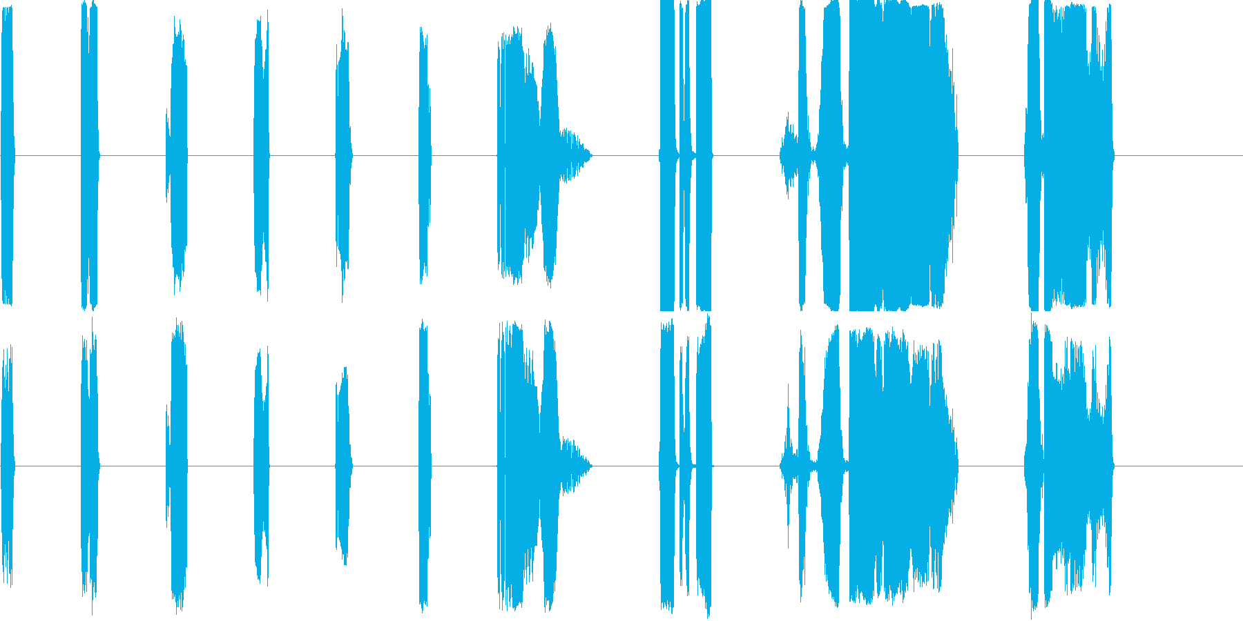 DJ Nasties 11-20の再生済みの波形