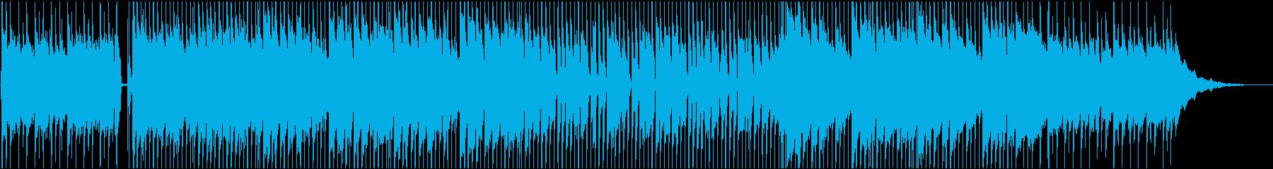 クラップとギターで楽しいPOPの再生済みの波形