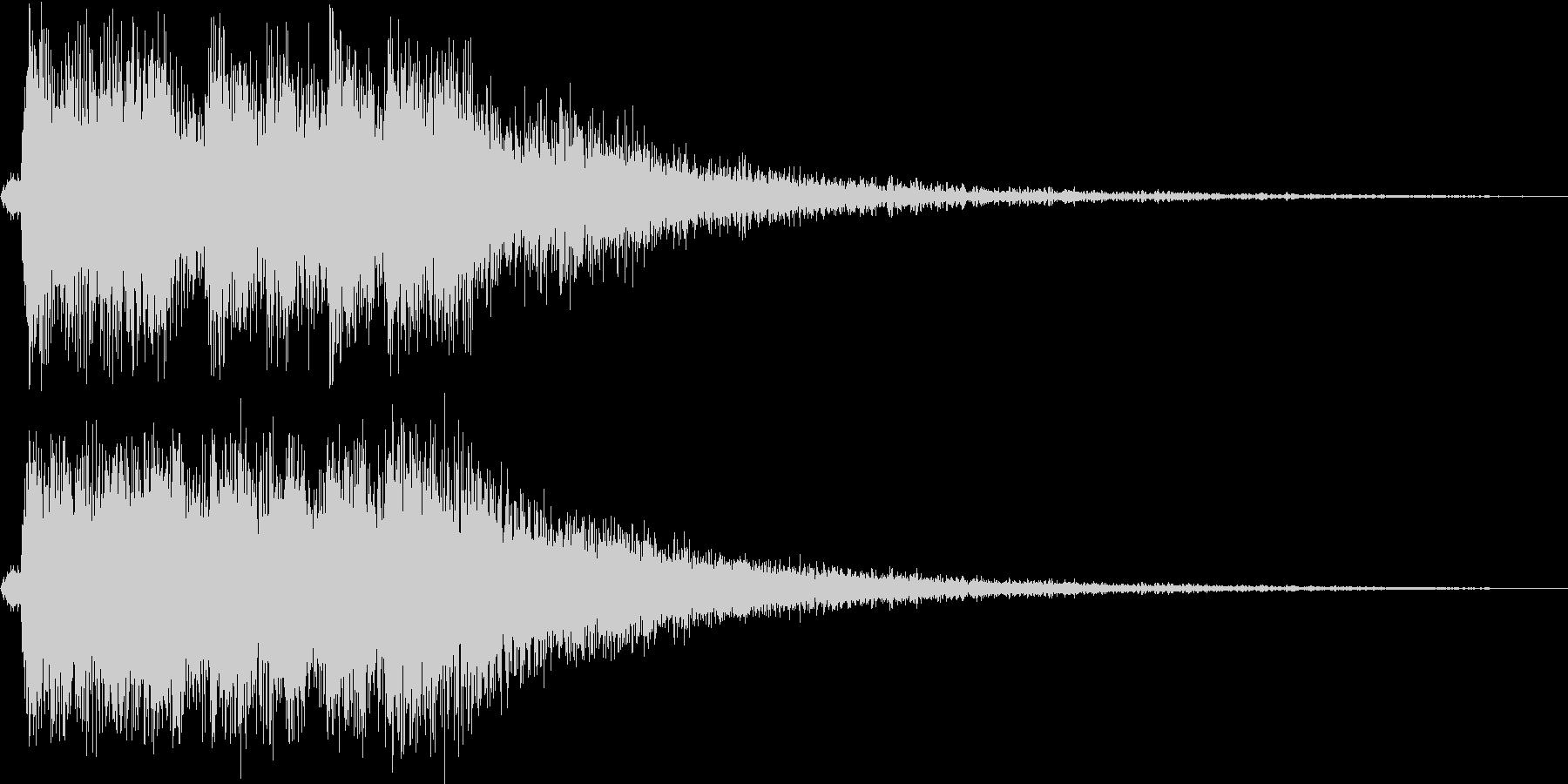 レベルアップっぽいファンファーレ4(速めの未再生の波形
