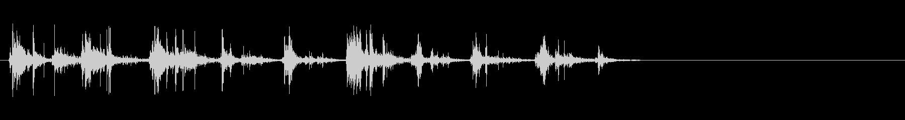 スピードバッグスイベルムーブメント...の未再生の波形