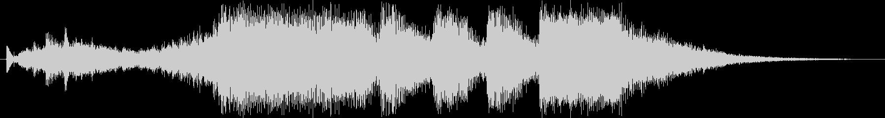 レベルアップっぽいファンファーレ1(豪華の未再生の波形