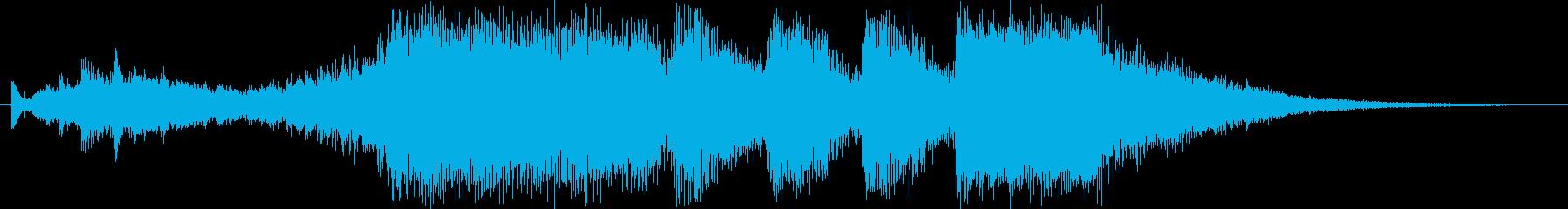 レベルアップっぽいファンファーレ1(豪華の再生済みの波形