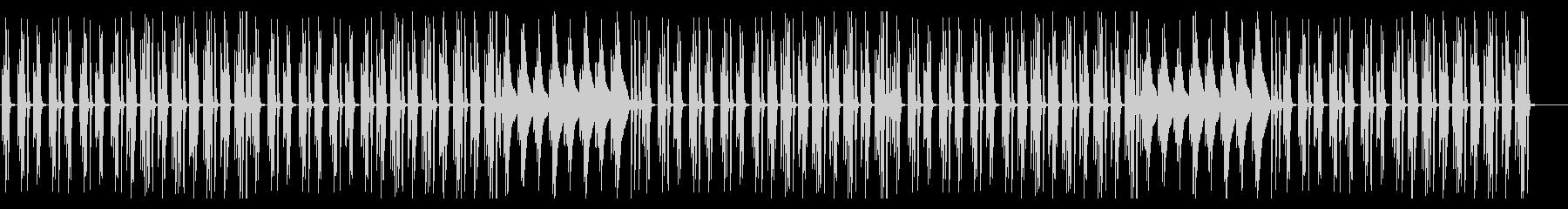 ほのぼのアニメ系の日常BGMの未再生の波形