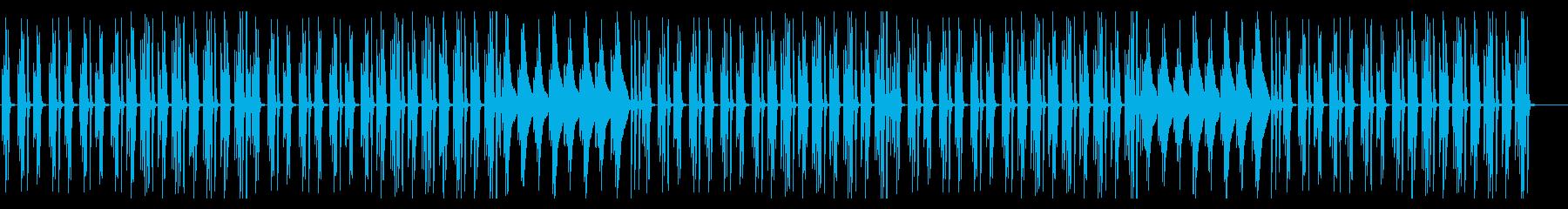 ほのぼのアニメ系の日常BGMの再生済みの波形