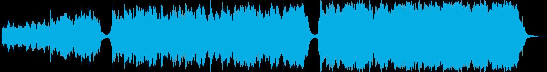 Cinematic Musicの再生済みの波形