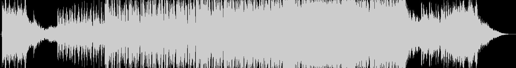 シンセ、バンド2部構成の雄大なバラードの未再生の波形