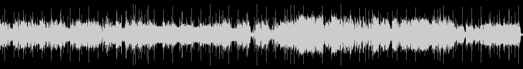 響くサックスの音色を楽しむスローロックの未再生の波形