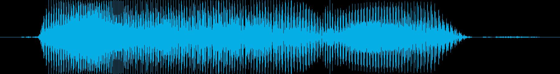 きゃーの再生済みの波形