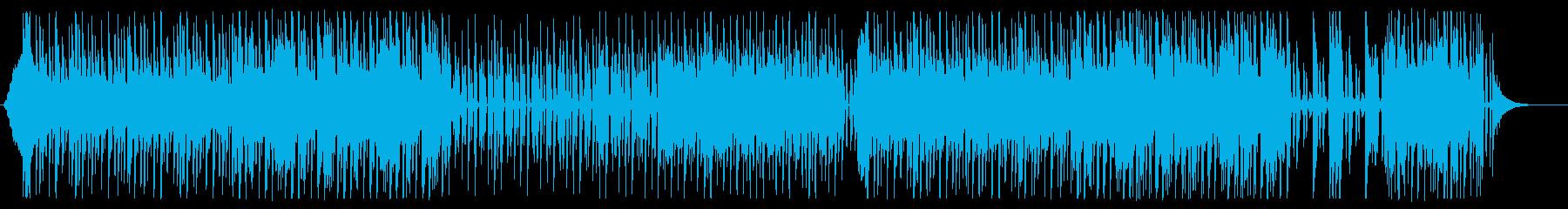キュートで都会的なエレクトロポップの再生済みの波形