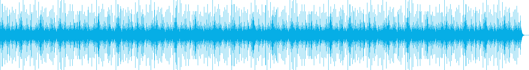 【童謡オルゴール】ロンドン橋の再生済みの波形