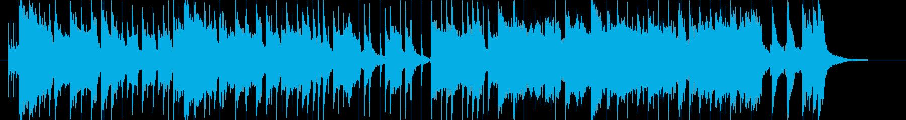次回予告風の30秒ジングルの再生済みの波形