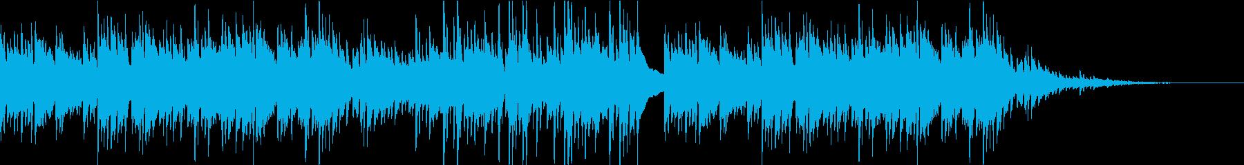 中世風のギター生演奏:古の村 ショートの再生済みの波形