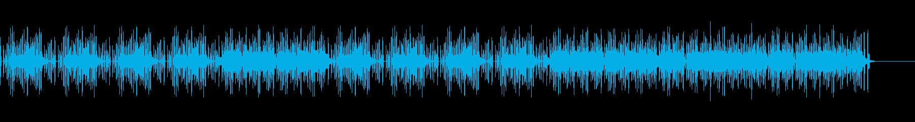 80年代のテレビゲーム風ほのぼのBGMの再生済みの波形