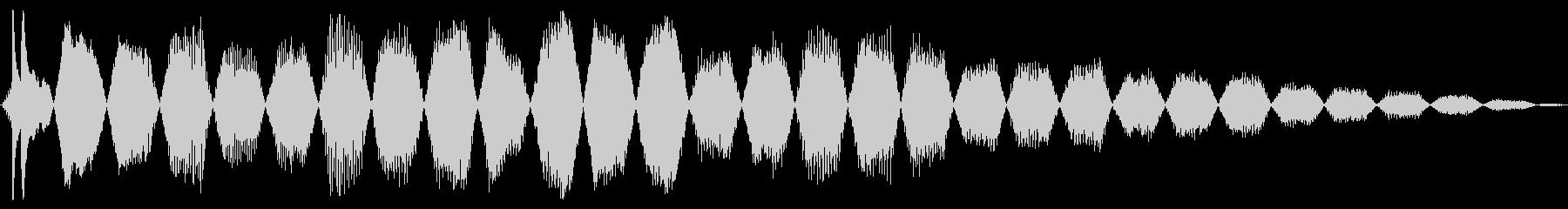 シャッターエレクトリック、パワーダ...の未再生の波形