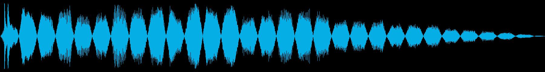 シャッターエレクトリック、パワーダ...の再生済みの波形