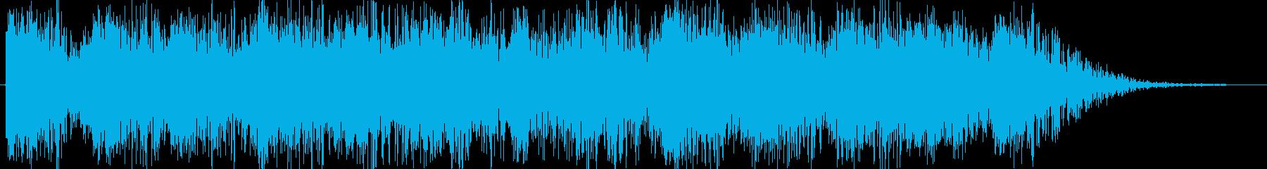 マシンガンを乱射(ドガガガガガ)の再生済みの波形