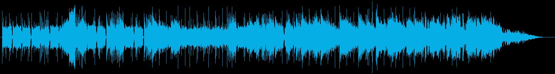 アップビートのジングルートーク番組等にの再生済みの波形