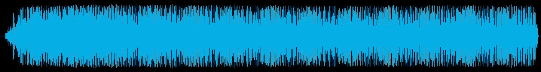 機械、モーター音(低音・一定・ノイズ音)の再生済みの波形