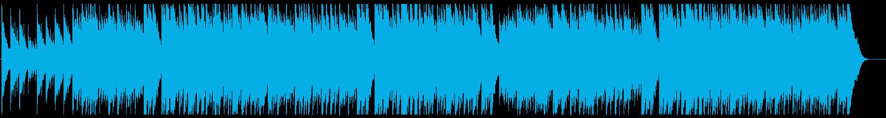 お正月 シンプルな箏の音色の再生済みの波形