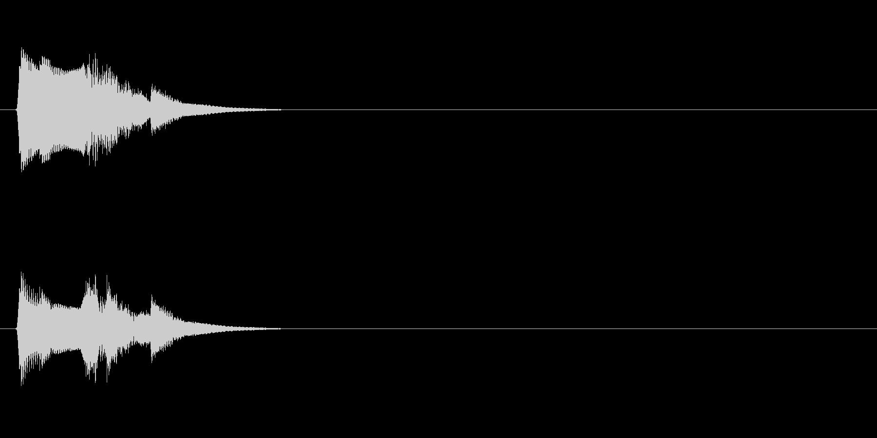【ポップモーション01-1】の未再生の波形
