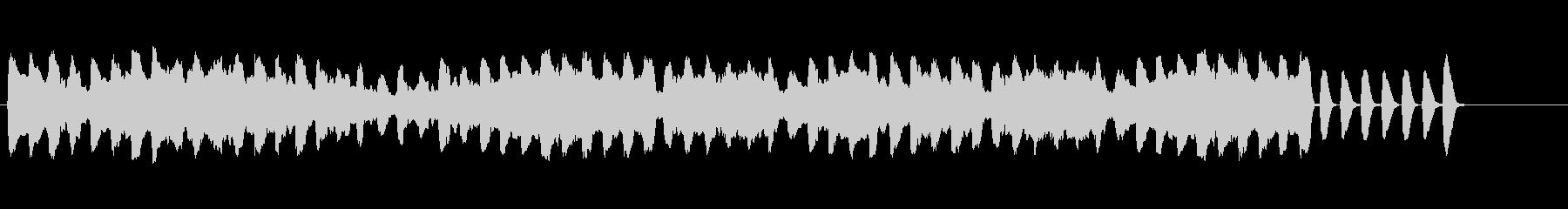 ほのぼの可愛いリコーダー 日常 動画の未再生の波形