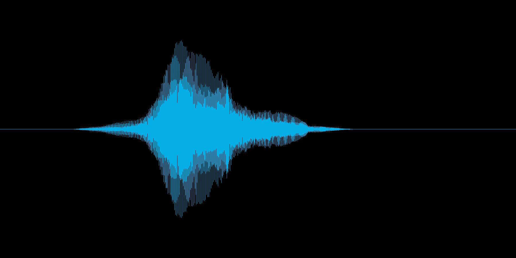 にゃんっ♪の再生済みの波形