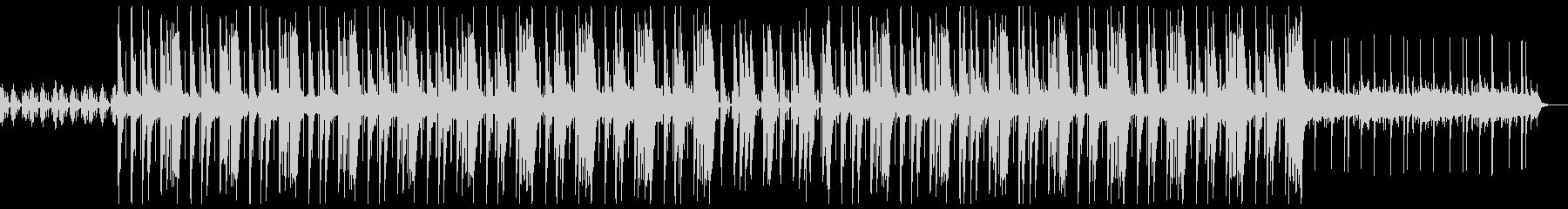 ダーク トラップ ビートの未再生の波形