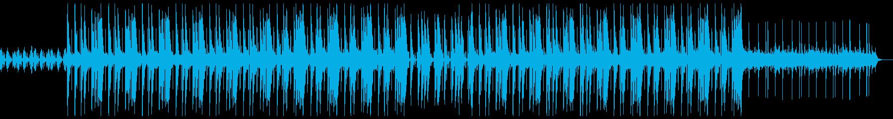 ダーク トラップ ビートの再生済みの波形