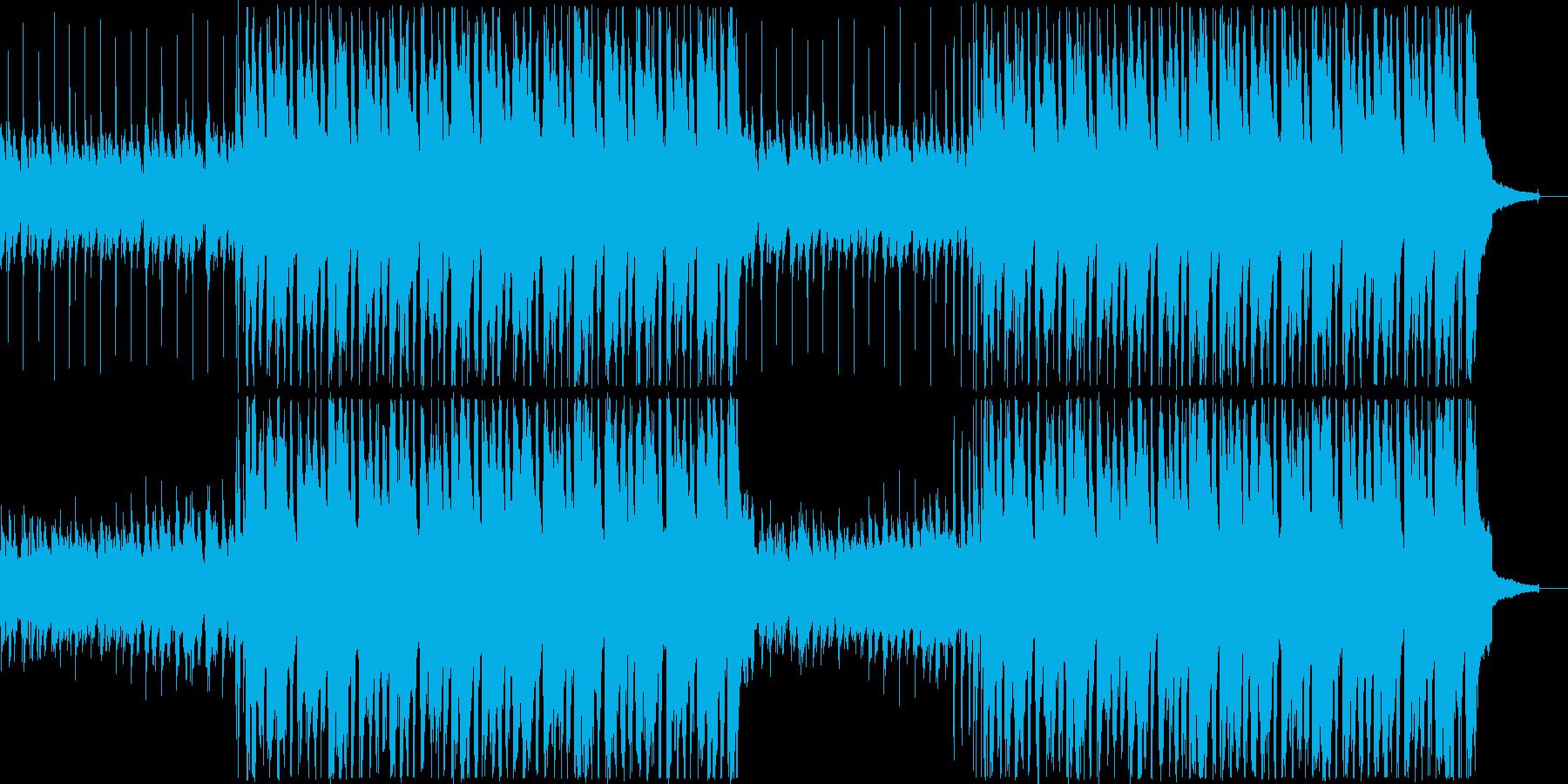 アコギ・口笛・明るい日常系BGMの再生済みの波形