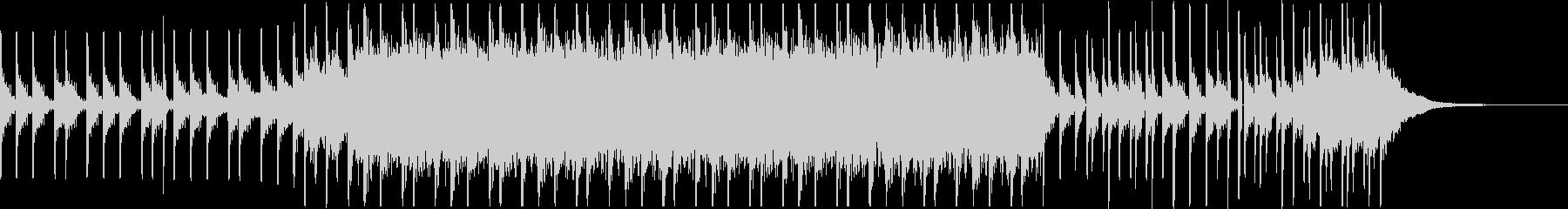 ドリブルとスキール音(バッシュ)とシンセの未再生の波形