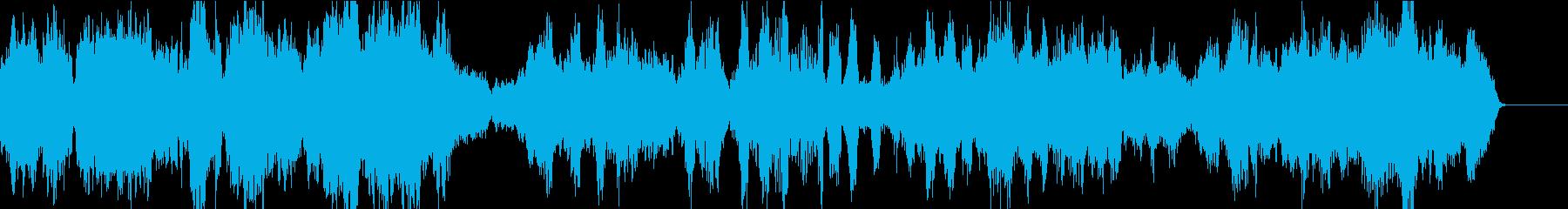 ストリングスと二胡の癒しのアンサンブルの再生済みの波形
