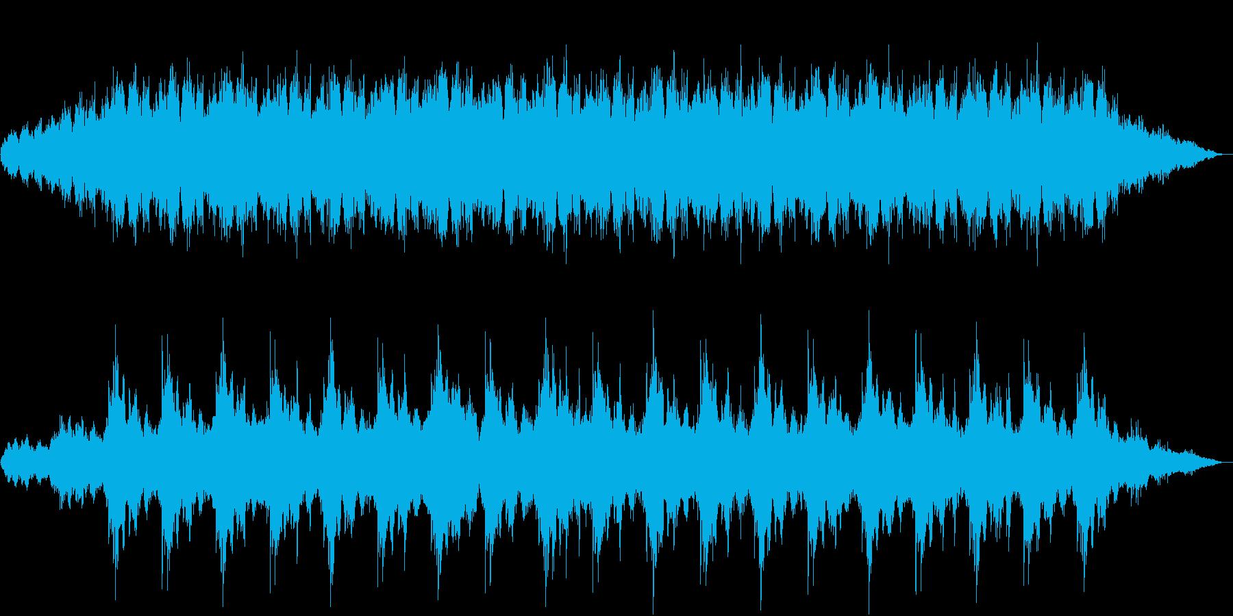 高品質 アンビエント / ミニマル作品の再生済みの波形