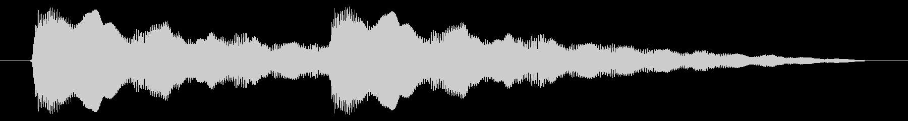 ニュース アラート02-4(遠い)の未再生の波形