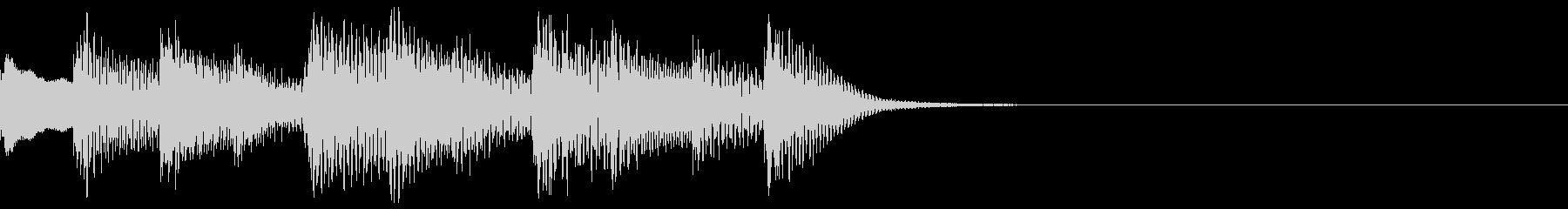 ブルース フレーズ トイピアノの未再生の波形