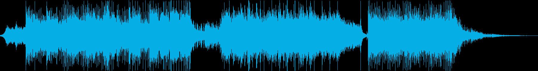 ちょっと怪しくて可愛いハロウィン楽曲の再生済みの波形