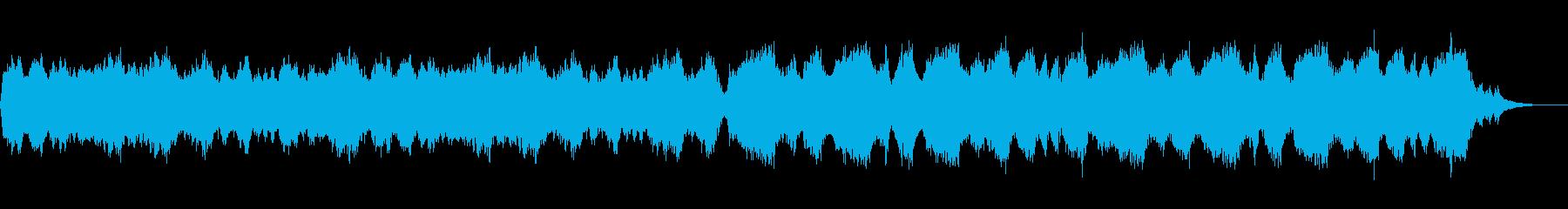 テーマ「涙の疾走」60秒の再生済みの波形