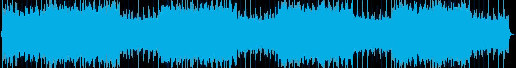 企業VP、壮大・感動的・オーケストラの再生済みの波形
