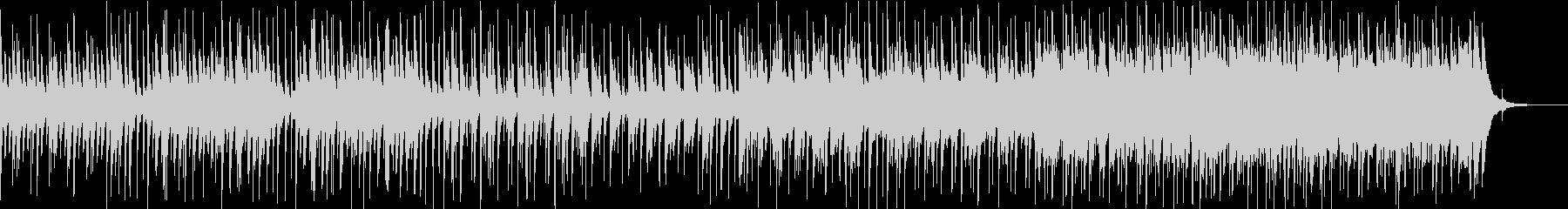 悲しく儚げなピアノのスローバラードの未再生の波形