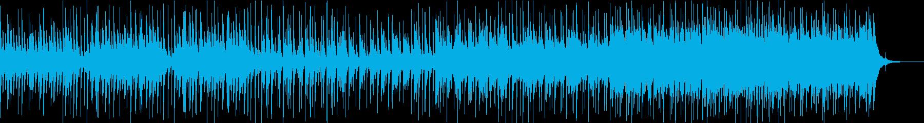 悲しく儚げなピアノのスローバラードの再生済みの波形