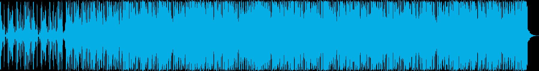 どこか懐かしいシンセが奏でるメロディの再生済みの波形